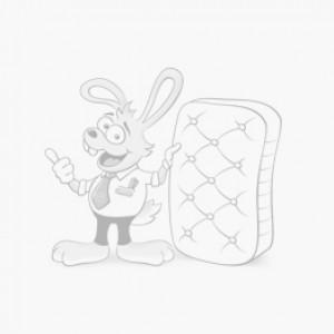 Кровать подростковая MY-BABY Glamour Bunny SUPERWOOD 1200х2000