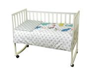 932.137 CAT 3 предмета - постельный комплект в кроватку ТМ РУНО (Украина) зеленый