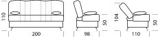 Габариты дивана