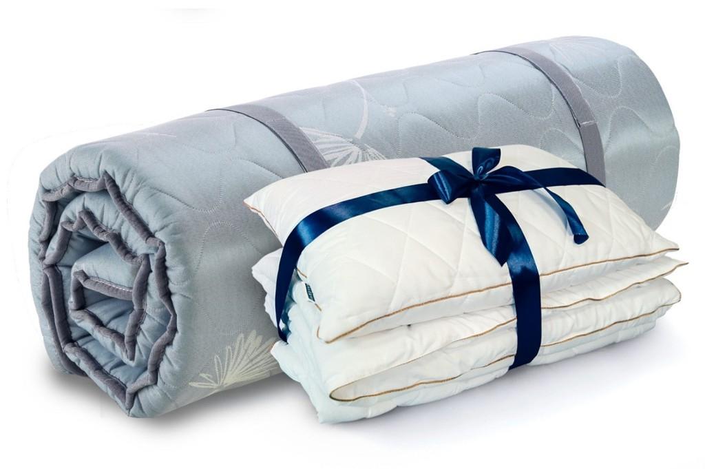 ПОДАРОК* набор: одеяло 140х200 + подушка Злата 50х70!