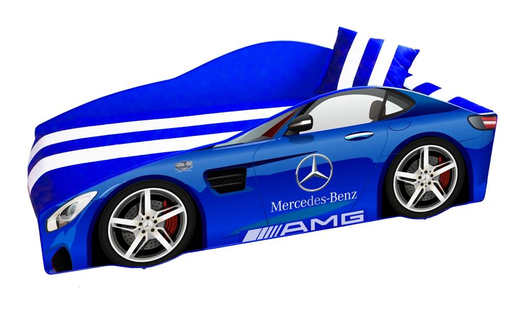 Mercedes E-4 синий