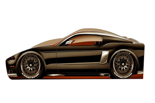 Б-0014 FORD-MUSTANG